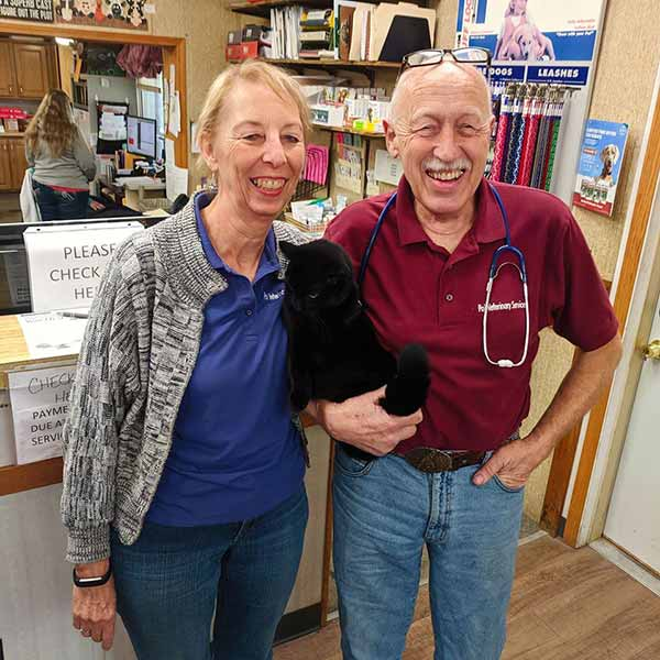Image of Dr. Pol with his wife Diane Pol