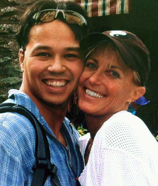 Photo of Dr. Dee Thornell and her husband, Kenneth Rodriguez.